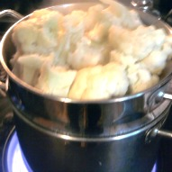 cauliflower mashed potato recipe, a fun thing to do with kids, kid friendly recipe, a fun thing to do with kids in Connecticut
