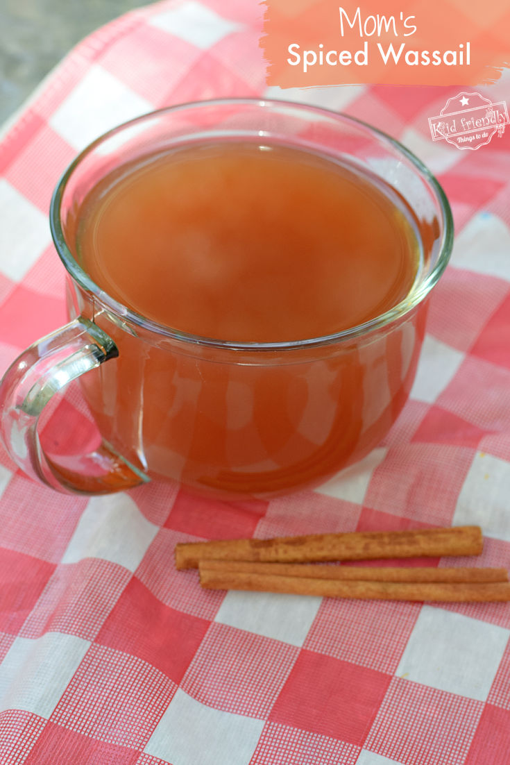 homemade wassail recipe