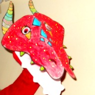 A Dragon Sock Puppet For The Chinese New Year – A Kid Friendly Thing To Do