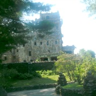 Outside Gillette Castle in CT