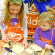 Home Depot Kid's Workshop Review Pictures