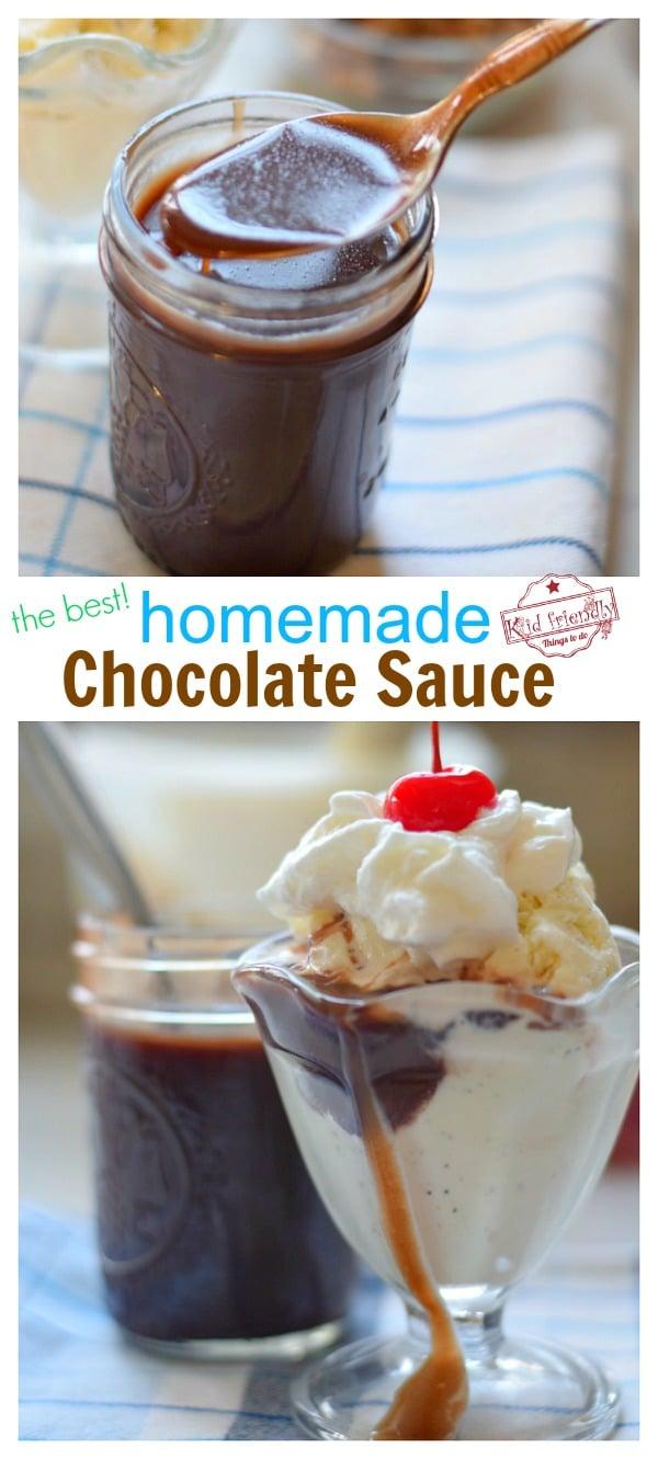 the best chocolate sauce recipe