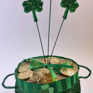A Pot of Gold St. Patrick's Day Decoration and Craft!