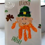 Leprechaun Handprint craft for St. Patrick's Day