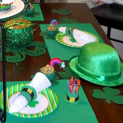 Toilet Paper Leprechaun Hat Napkin Holder