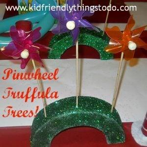 Truffula Tree Pinwheels