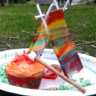 Camp Out -OR- Boy Scout Cupcake – A Kid Friendly Thing To Eat