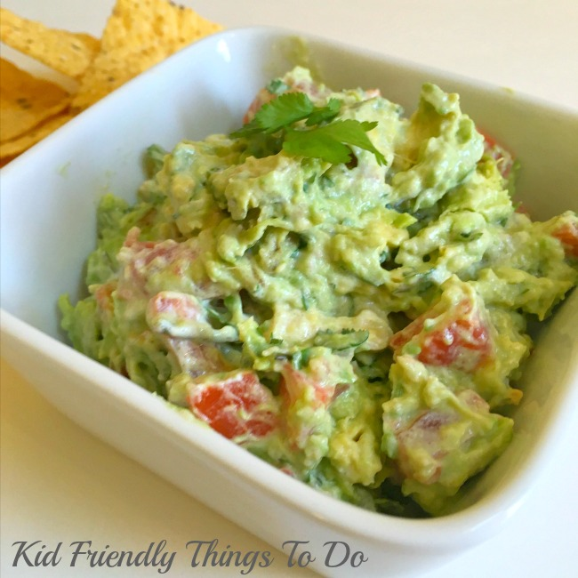 My Secret Ingredient Guacamole Dip