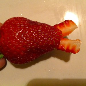 Snake Fruit Kabob