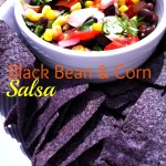 Black Bean and Corn Salsa Recipe - The most refreshing summer side to any picnic or holiday!