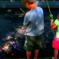Fishing In The Driveway (Boredom Buster Idea) – A Kid Friendly Thing To Do