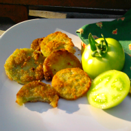 A fun thing to do with kids, Kid friendly thing to do, Kid friendly recipe, Fried green tomato recipe, A fun thing to do with kids in Connecticut, A fun thing to do with kids in Massachusetts, A fun thing to do with kids in Rhode Island