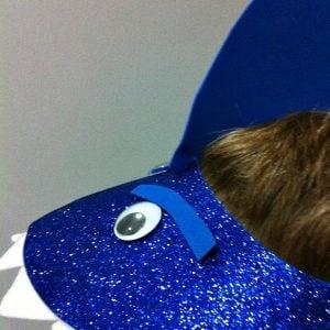 Shark Hat Craft for Kids