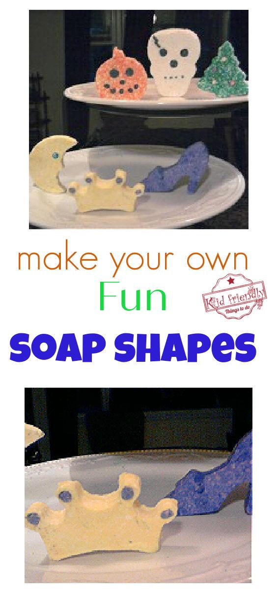 soap dough shapes