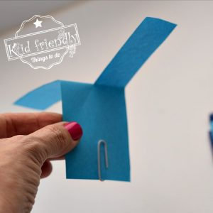 Make an EASY Paper Helicopter Spinner {STEM Activity}  – A Kid Friendly Thing To Do Craft