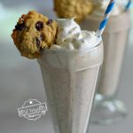Chocolate Chip Cookie Milkshakes