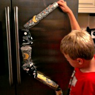 Make A Simple Marble Run – A Kid Friendly Thing To Do Craft