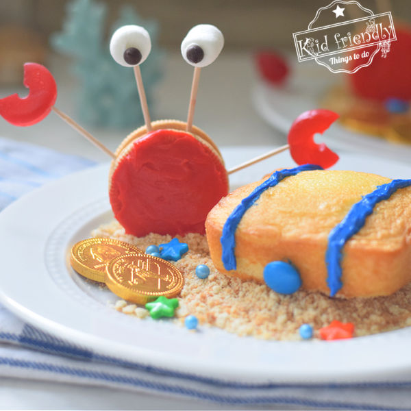 Under the Sea Themed Party Snack Idea for Kids