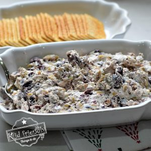 Cream Cheese Olive Spread Dip | Kid Friendly Things To Do