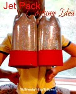 Soda Bottle Jet Pack Craft - KidFriendlyThingsToDo.com