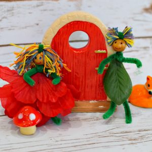 fairy doll craft for kids