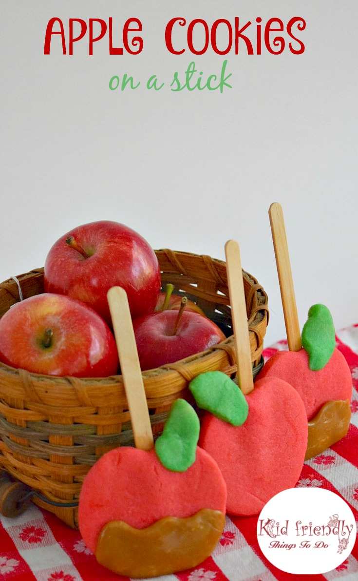 Caramel Apple Shaped Cookies! – A Kid Friendly Thing To Eat