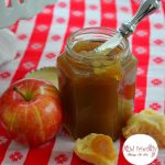 The best home made apple butter recipe. It's easy and so yummy! Perfect for canning - www.kidfriendlythingstodo.com