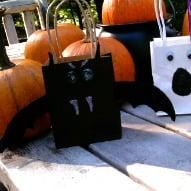 halloween gift bag craft
