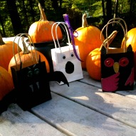 halloween bag craft