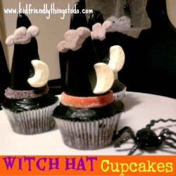 A Witch Hat Cupcake – A Kid Friendly Thing To Do