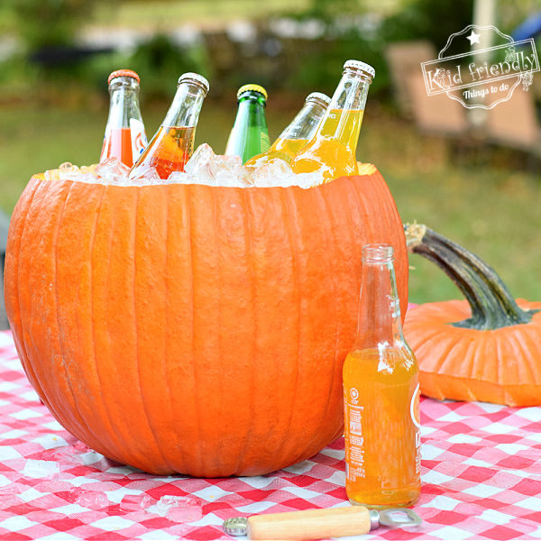 How to Make A Pumpkin Ice Cooler – Kid Friendly Things To Do