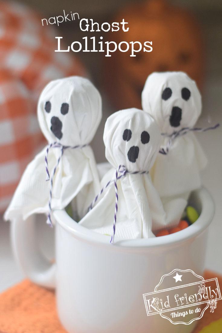 Ghost Lollipop Craft