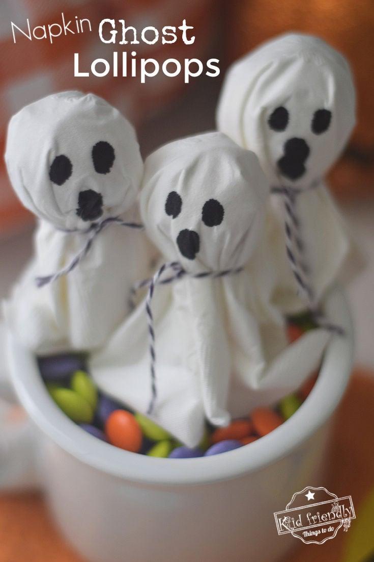 easy lollipop ghosts