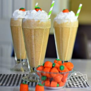Pumpkin Spice Milkshakes