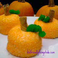 Hostess Sno Ball Pumpkin Patch Cakes