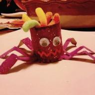 Spider Craft, Spider Treat Holder, Spider Halloween Craft, Bug Craft,