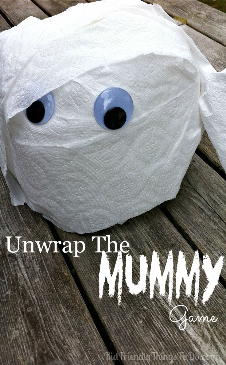 mummy making games