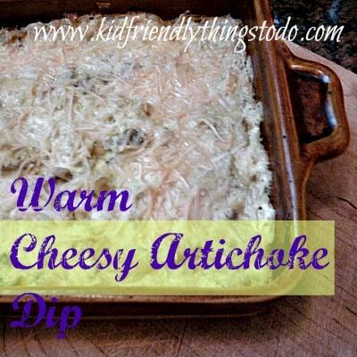 Cheesy Artichoke Dip