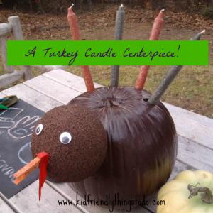 turkey centerpiece craft