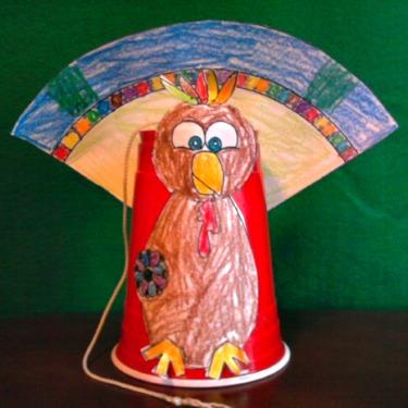 Kid's Turkey Craft