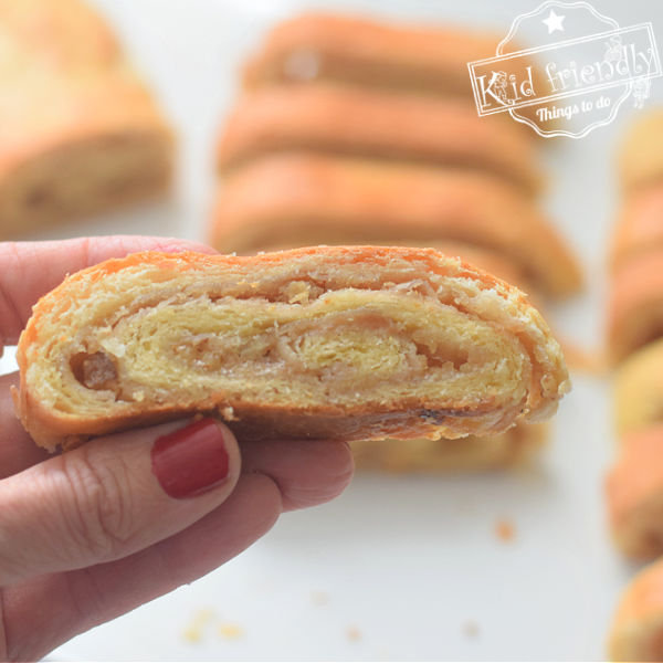 old fashioned nut roll