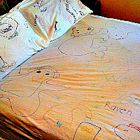 Let Kids Make A Personalized Sheet Set As A Gift For Loved Ones