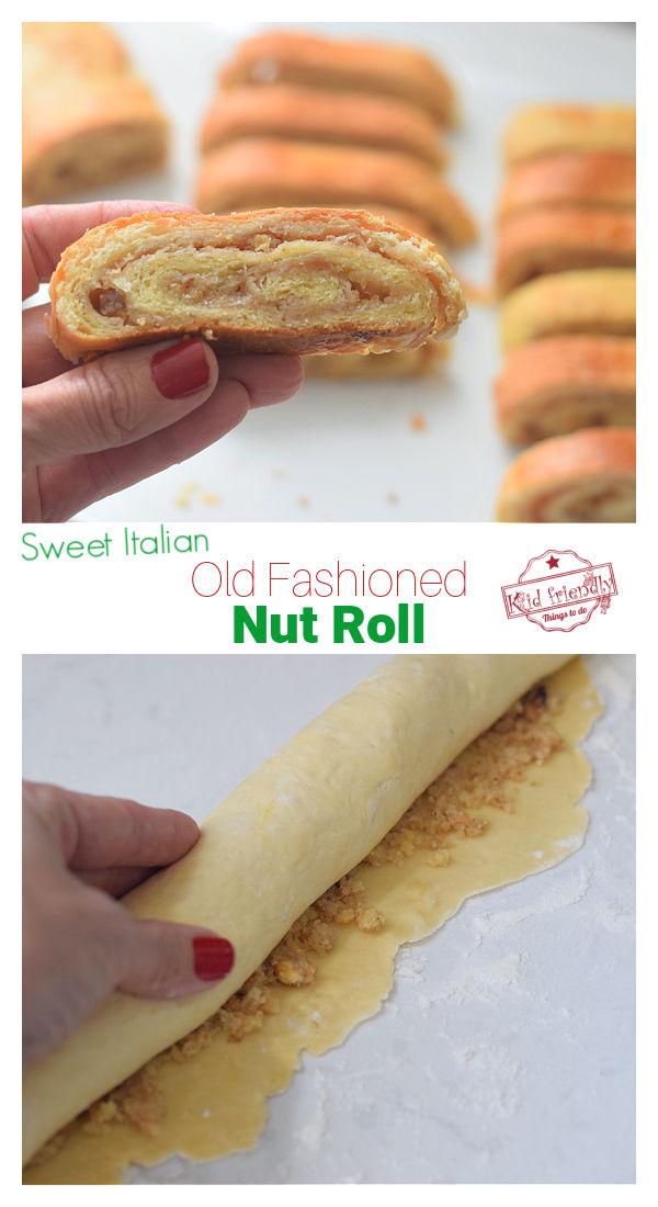 sweet nut roll