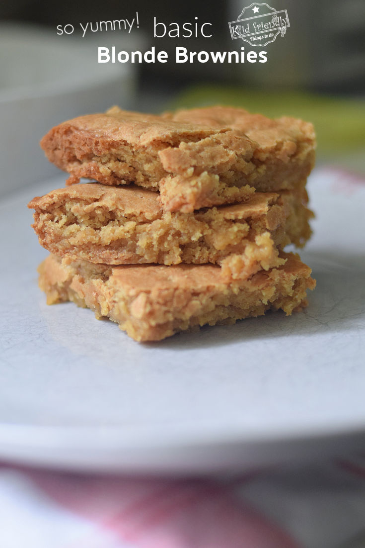 Basic Blonde Brownies Recipes