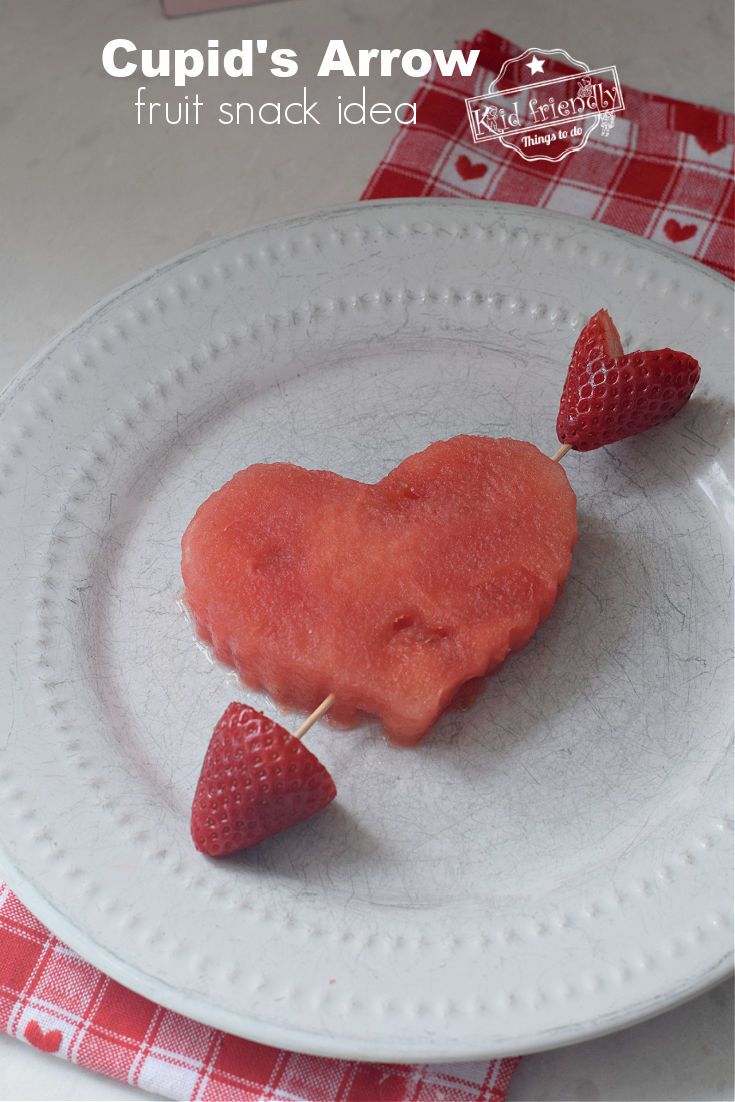 Valentine's Day Party Treat Fruit Snack for kids