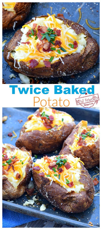 Twice Baked Potatoes Loaded