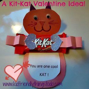 Kit-Kat Valentine's Day Card Idea