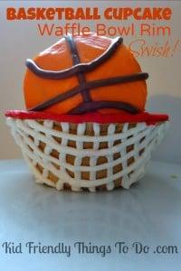 A Basketball Cupcake – A Fun Food Idea
