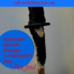 A President's Day Chocolate Pretzel – Abraham Lincoln – A Fun Food