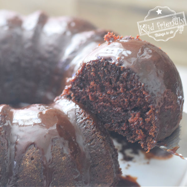 Chocolate Bundt Cake Recipe {the Best!} | Kid Friendly Things To Do